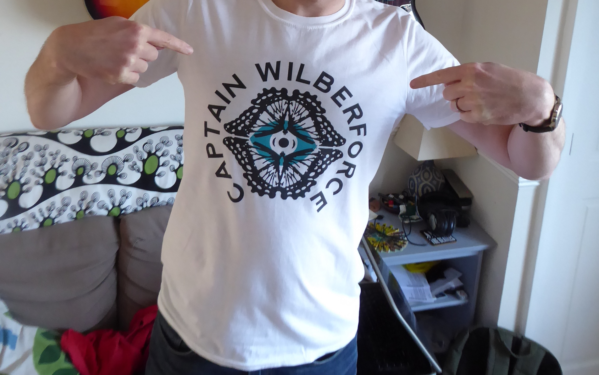 Captain Wilberforce T-shirt